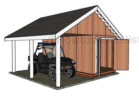 shed  porch roof plans howtospecialist