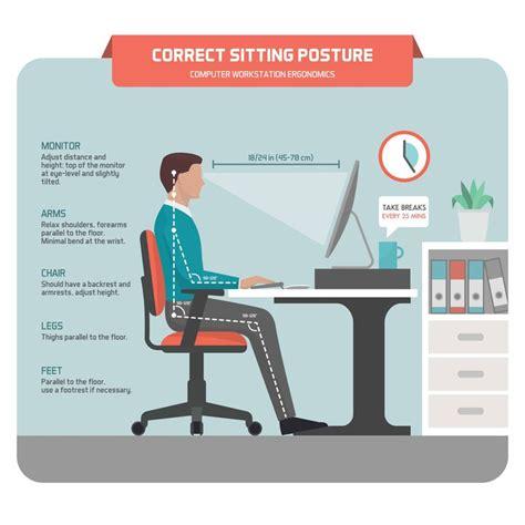 better posture sitting at desk best 25 sitting posture ideas on posture