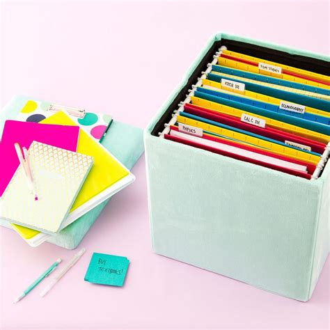 hanging file storage ottoman 1000 ideas about hanging files on pinterest filing