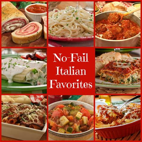 best easy italian recipes 46 no fail italian favorites plus 9 classic sauces