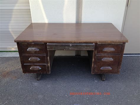 Family Desk by Trashy Tuesday The Dumpster Desk Is Done