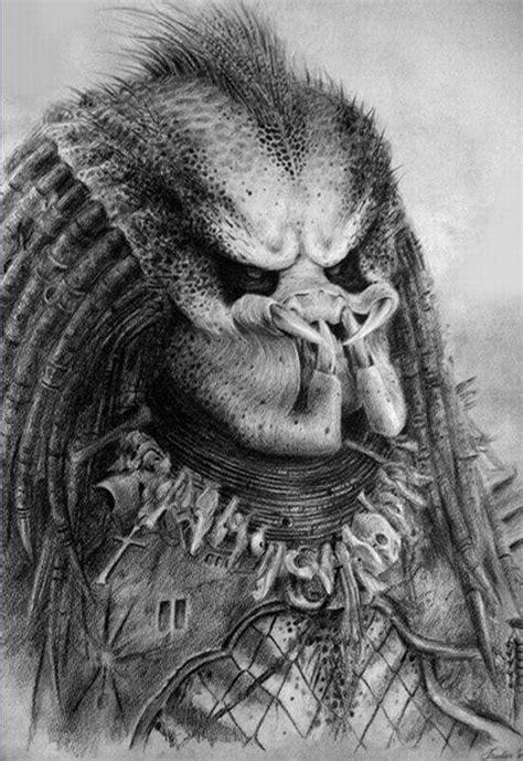 dibujos de depredador a lapiz imagui