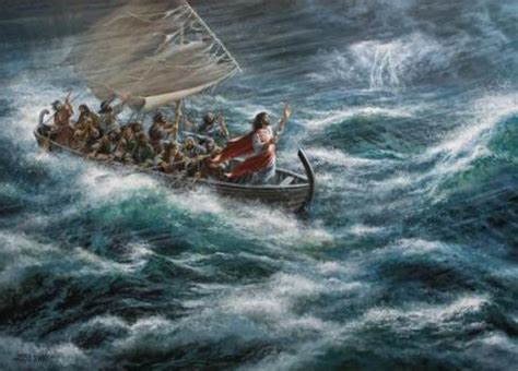 jesus calms the storm | all is well
