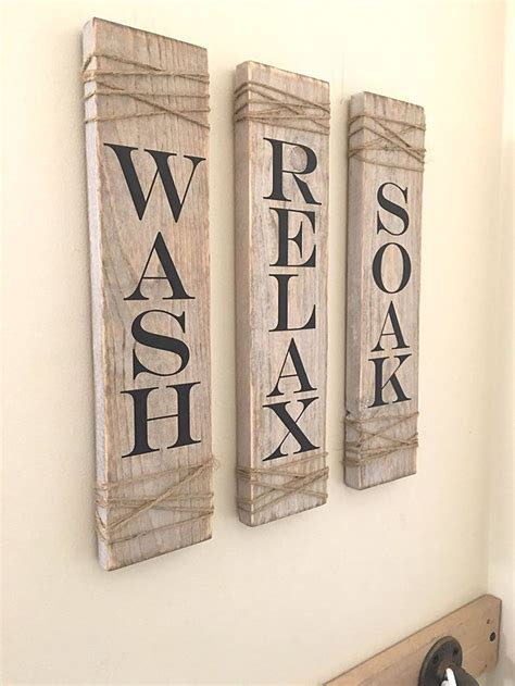 rustic bathroom wall decor best 25 bathroom signs ideas on pinterest bathroom wall