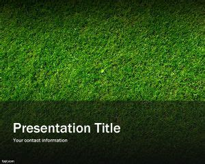 free green grass powerpoint background