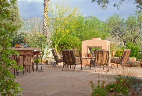 southwest style southwestern patio by