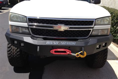 road armor 370r0b front stealth winch bumper with square
