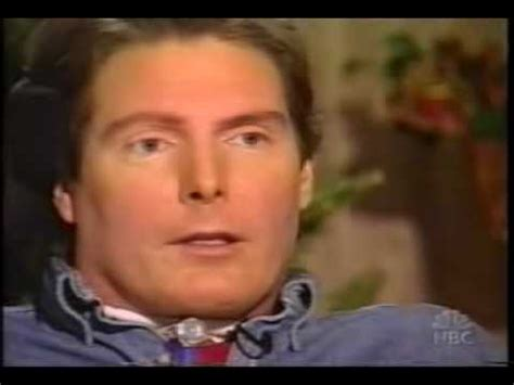 News For Christopher Reeves by Christopher Reeve News Report On Reeve S 10 11 04