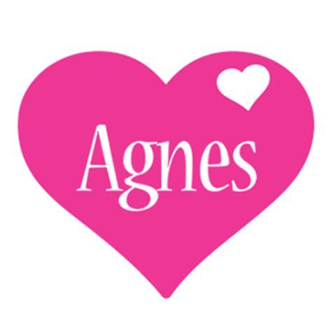 Logo Agnes Agnes Logo Name Logo Generator I