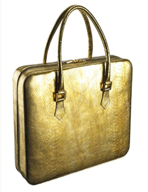 Lloyd Laptop Bag From Violet May by Violet May S Kydd Gold Python Tote Is The Most Luxurious