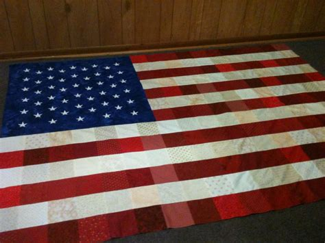Usa Quilt by Humble Quilter Usa Flag Quilt Another Look