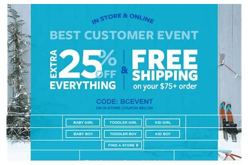 carters free shipping coupon canada