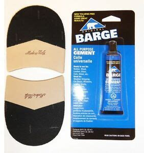 vibram italian mens dress shoe combo heel repair kit w glue 1 pair