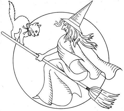 christmas witch coloring page 19 best halloween quilt images on pinterest halloween
