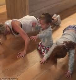 push ups before bed roxy jacenko s daughter pixie decorates her school bag daily mail online