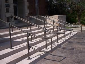 Outdoor Metal Handrail Outdoor Stair Railing Kits With Modern Outdoor Metal Ada