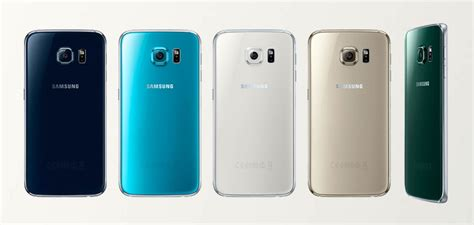 Samsung Galaxy S6 Colors what does the color of your new galaxy s6 say about you talkandroid