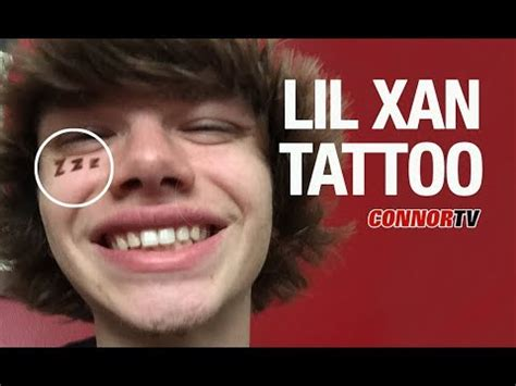lil xan face tattoo halloween at great wolf lodge vlog