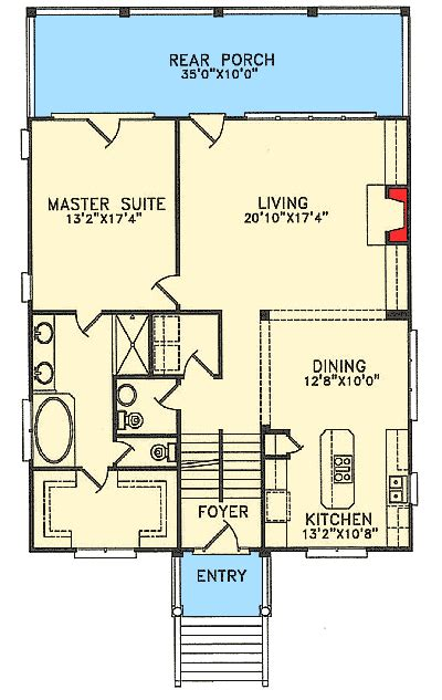 low country floor plans low country charisma 15018nc architectural designs house plans