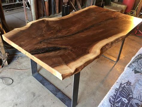 Dining Room Table Bases Wood black walnut table www pixshark com images galleries