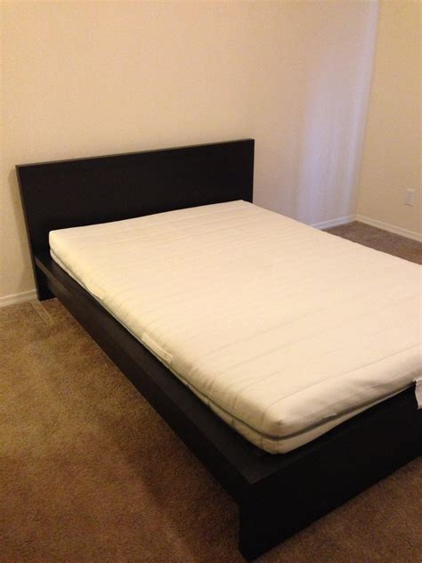 ikea malm full bed full malm ikea bed and twin memory mattress topper non
