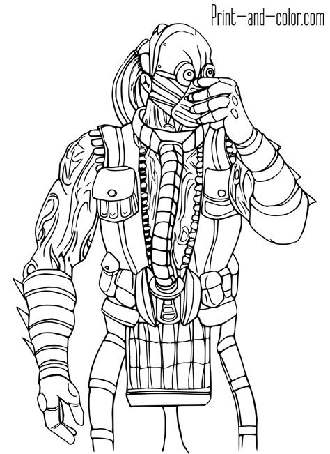 Coloring Pages Of Mortal Kombat 3 Coloring Pages Mortal Kombat Coloring Pages