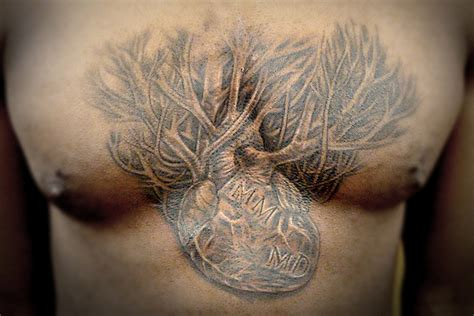 tattoo open chest open chest open heart by boywithwings on deviantart
