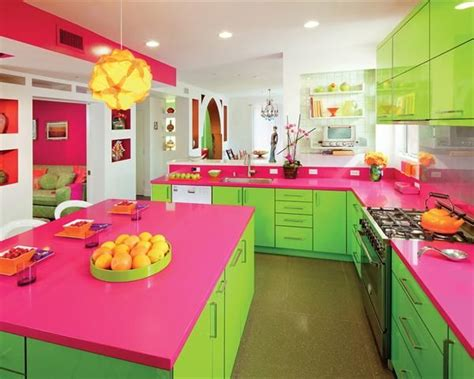 pink and green kitchen designs quicua