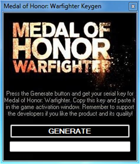 Pc Original Medal Of Honor Warfighter Cd Key Origin medal of honor warfighter keygen cd key and activator extensions