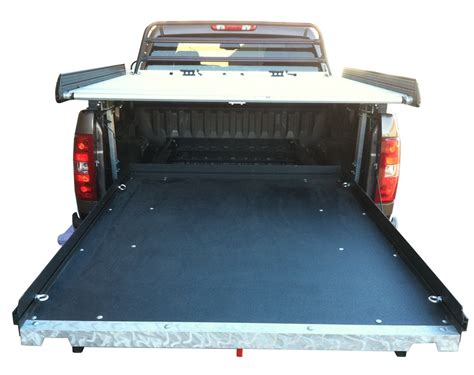 sliding truck bed 2015 ford f 250 super duty slide out cargo trays cargoglide