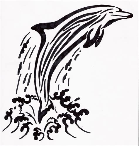 tribal dolphin tattoos designs 20 tribal water tattoos