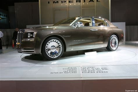 Chrysler Imperial Concept Car by 2006 Chrysler Imperial Concept Gallery Chrysler