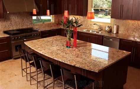 kitchen island with granite countertop crema bordeaux granite kitchen island countertop from canada stonecontact