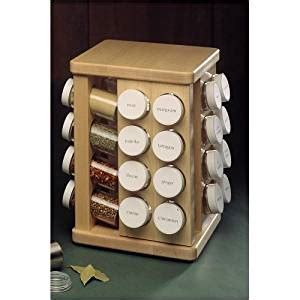 48 Bottle Spice Rack by Sugar Maple Carousel Spice Rack Spice Carousel