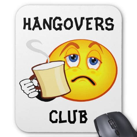 How To Decorate Your Mobile Home funny hangovers club mousepad zazzle