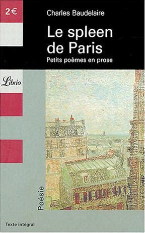 le spleen de paris 2081309416 le spleen de paris 豆瓣