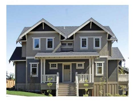 Two Story Bungalow House Plans by 2 Story Craftsman Bungalow House Plans 2 Story Craftsman
