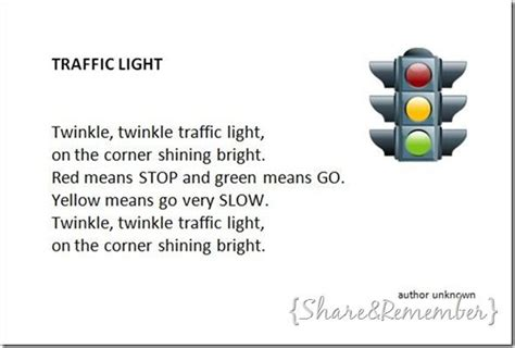 Learning To Be The Light Lyrics by Traffic Light Song Transportation Theme