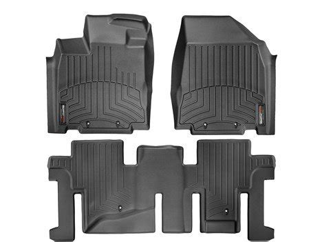 2014 infiniti qx60 black weathertech floor liners full