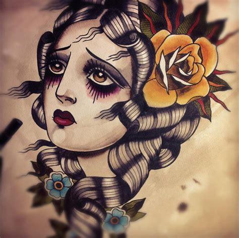 tattoo old school motive f4bbnrkhoay