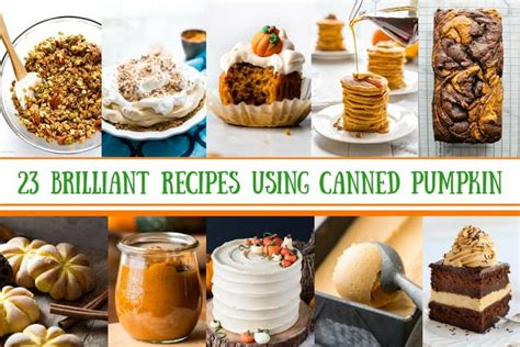 23 brilliant recipes using canned pumpkin saving room for dessert