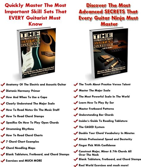 guitar tutorial ebook beginners guitar lessons with your guitar sage
