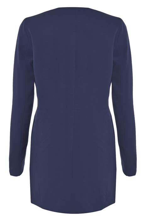 Louise Navy vero moda louise 3 4 jacket in navy iclothing