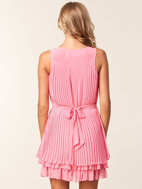 Rosa Pleated Sliders by Pleated Day Dress Lipsy Rosa Kleider Kleidung