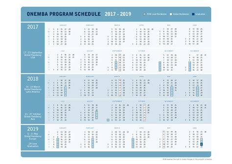 Michigan Executive Mba Schedule by Programme At A Glance Why The Rsm Global Onemba