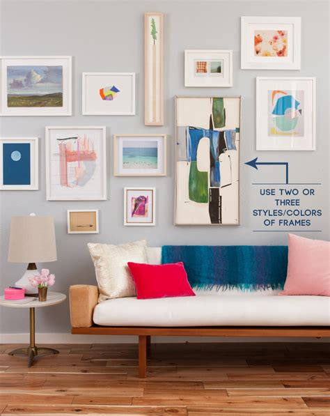 how to do a gallery wall the guide to a well hung gallery wall emily henderson