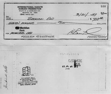 What Does A Background Check Look Like What Does A Banked Cheque Look Like Quora