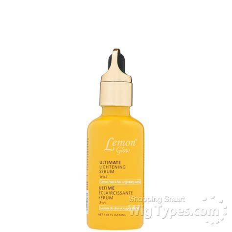 Serums To Detox Glow by Lemon Glow Ultimate Lightening Serum 1 66oz Wigtypes