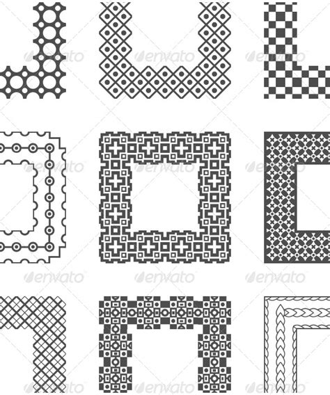 square pattern brush photoshop abstract geometric square photoshop brushes 187 tinkytyler