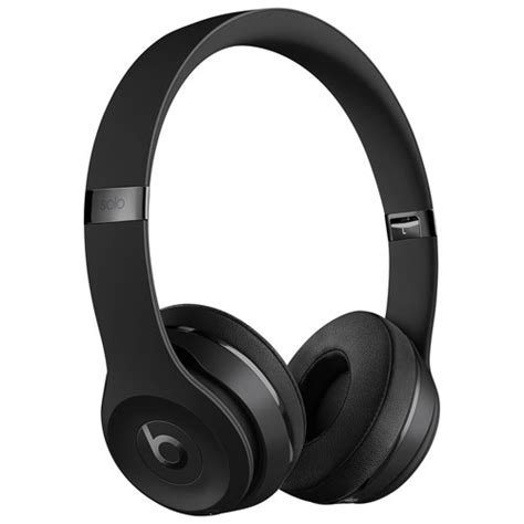 Bluetooth Headphone Beats By Drdre beats by dr dre solo3 on ear sound isolating bluetooth headphones black on ear headphones